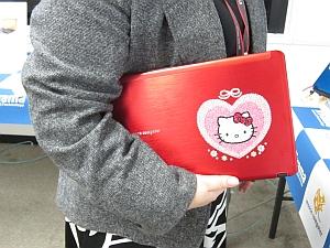 LuvBook Sシリーズ・キティちゃんモデル