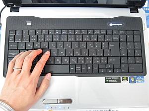 LuvBook K シリーズのキーボード